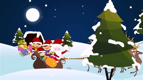 merry christmas animated video youtube
