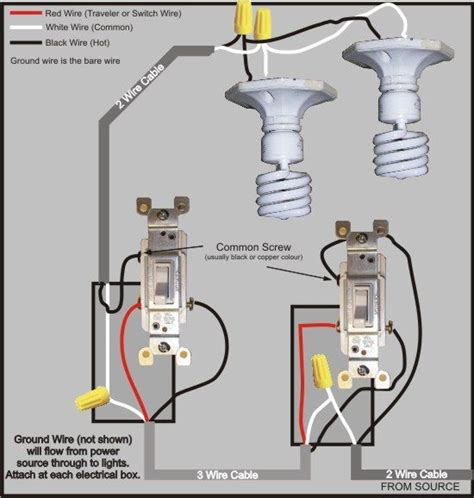 3 way switch wiring diagram gt power to switch then to