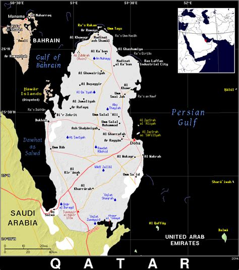 zip code map qatar qa 183 qatar 183 public domain maps by pat the free open