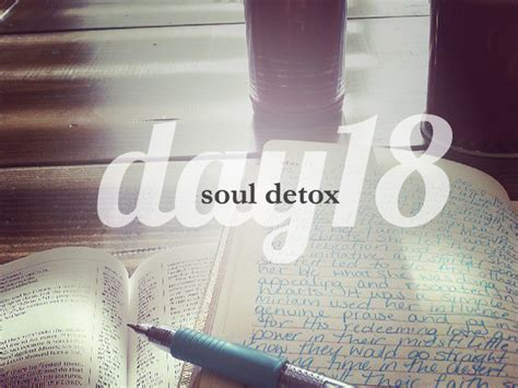And Soul Lenten Detox by Day 18 She Reads She Reads