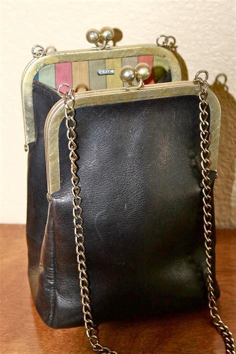 Bag Pin By Bonita by Vintage 1960s Coach Bonnie Cashin Lock Swing