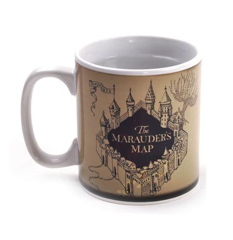 harry potter marauders map mug marauder s map hogwarts secret heat change harry potter