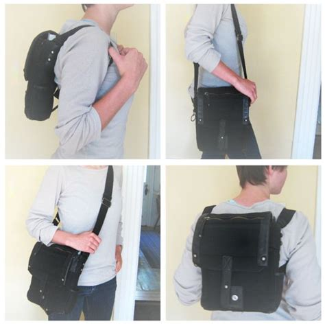 how to make a one backpack purse that turns into backpack backpacks