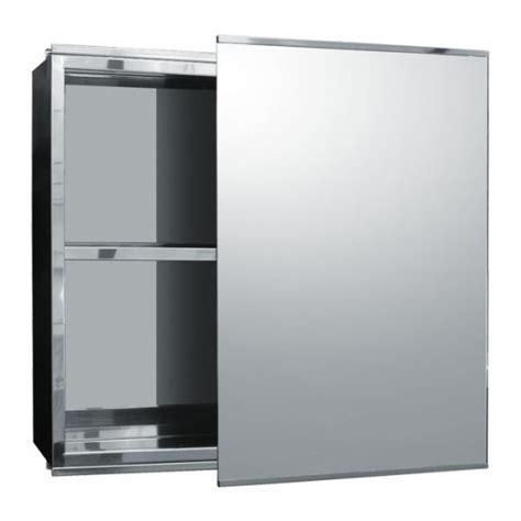 mirrored bathroom cabinets with sliding doors bathroom stainless steel sliding door mirrored cabinet 500 h 340 w