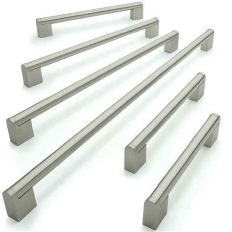 kitchen cabinets handles stainless steel 156mm 476mm kitchen cabinet door handles stainless steel 14mm bar ebay