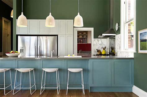cuisine 2 couleurs couleurs agr 233 able pour une cuisine d 233 co moderne et