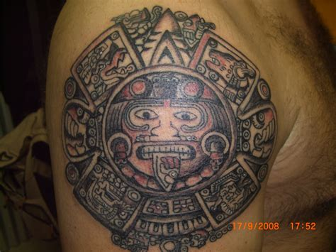 calendario azteca tattoo design tattoos aztecas