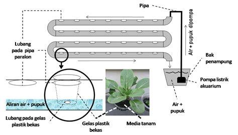 Jual Alat Hidroponik Sederhana teknik pembuatan media tanam dengan sistim hidroponik