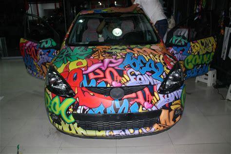 china  size bomb graffiti sticker wrap vinyl decal