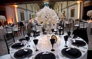 Black And White Table Setting Pics Photos Weddings Black And White Table Setting For