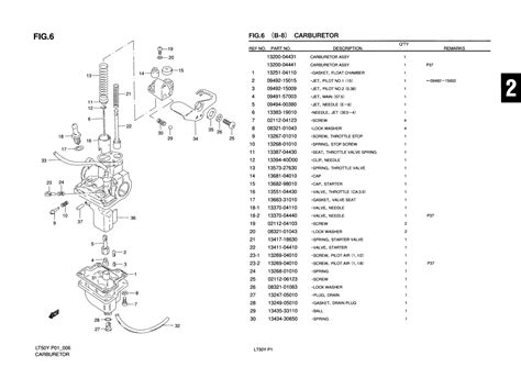 Suzuki Lt50 Parts Uk Genuine Suzuki Lt50 Mini Atv Carburetor Float 13252