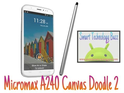 canvas doodle in india upcoming micromax a240 canvas doodle 2 listed