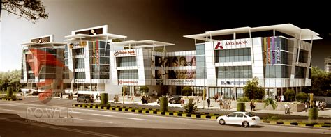 read 3d architectural shopping mall rendering in here
