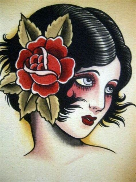 vintage pin up tattoo designs best 25 traditional ideas on