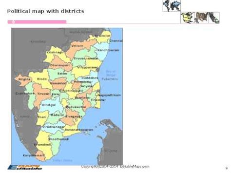 powerpoint tutorial in tamil tamil nadu editable map youtube