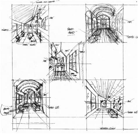 Floor Plan Rendering Techniques by Interior Design Degree Quick Sketching Progression Disd