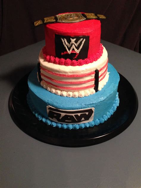 wwe wrestling cake tammys treats  sweets   wwe birthday wwe birthday cakes diva