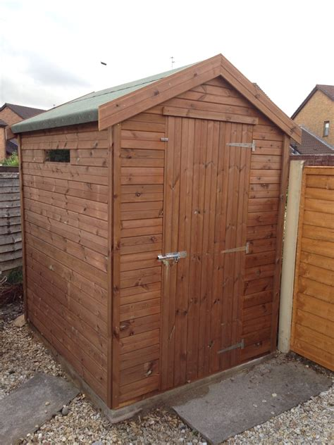 6x5 Shed by 6x5 Apex Tanalised Shed Easy Shed