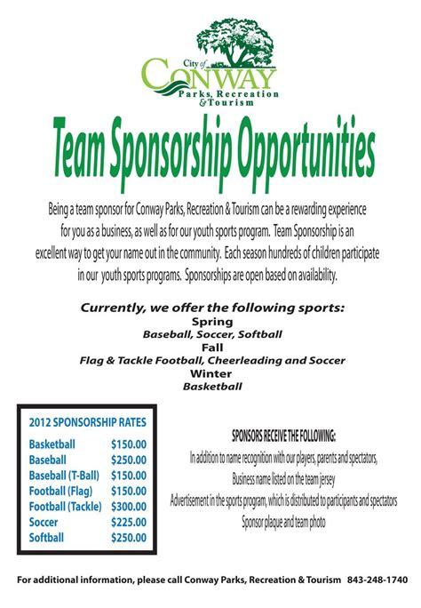 Kickball Sponsorship Letter Click Here To A Team Sponsorship Form