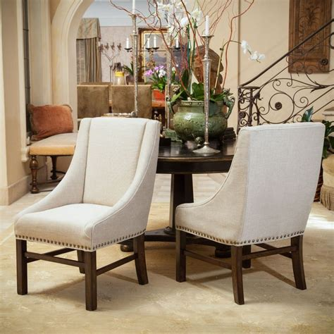 best fabric for dining room chairs christopher knight home james fabric dining chair set of