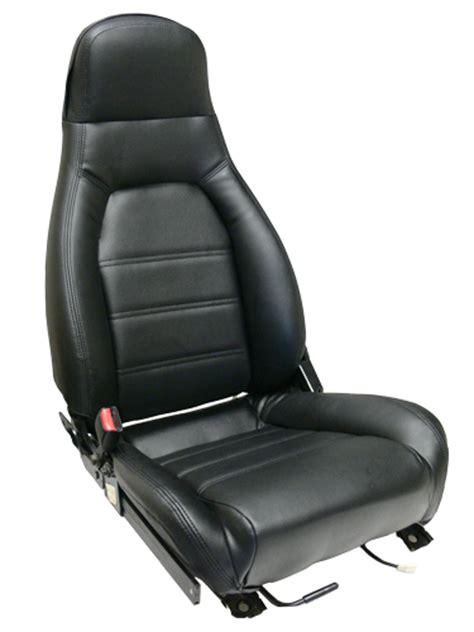 Miata Upholstery by 1990 1996 Mazda Miata Front Seat Cover Kit Black Or