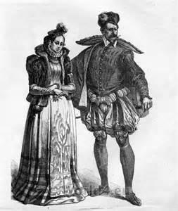 French renaissance clothing 16th century costumes nobility clothing