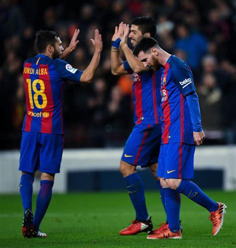 barcelona keluar dari la liga fc barcelona v rcd espanyol la liga zimbio