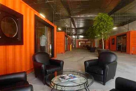 Office Space Orange County Shipping Containers Transform Warehouse Into Office Space