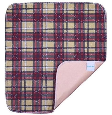 extra large saddle style absorbent bed pad  tuck