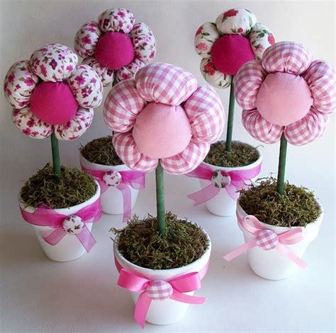 come realizzare fiori di stoffa idea di primavera fiori di stoffa