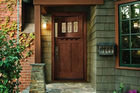 Exterior Hardwood Door Exterior Door Installation Options Types Of Exterior Doors