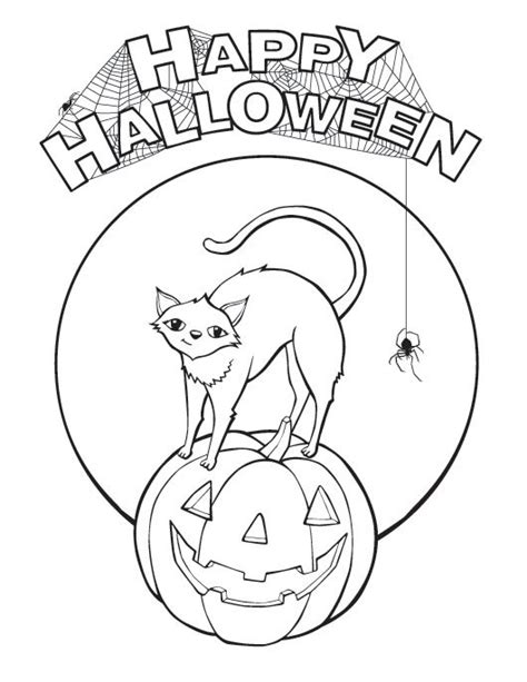 halloween happy birthday coloring pages 200 free halloween coloring pages for kids the suburban mom