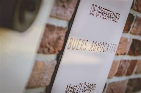 de spreekkamer buers advocaten advocatenkantoor schagen buers advocaten
