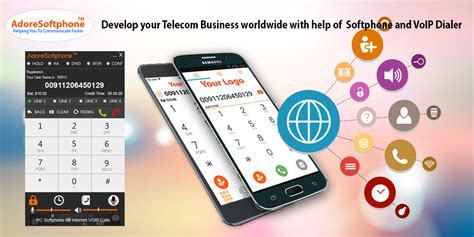 mobile voip dialer develop your telecom business worldwide with help of