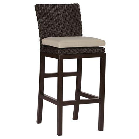 rustic bar stools rustic 30 quot wicker bar stools