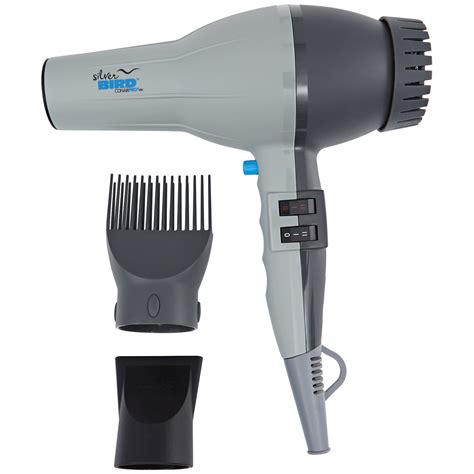 Turbo Hair Dryer by Conairpro Silver Bird 2000 Watt Professional Ac Turbo Hair