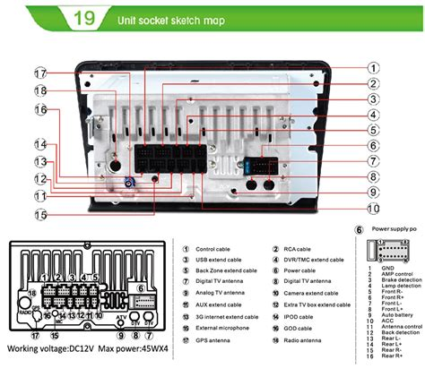 Soket Antena Unit Oem Toyota for android 4 4 4 ford f150 2009 2014 zhuhai witson