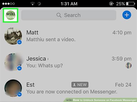 how to unblock someone on iphone 3 ways to unblock someone on facebook messenger wikihow