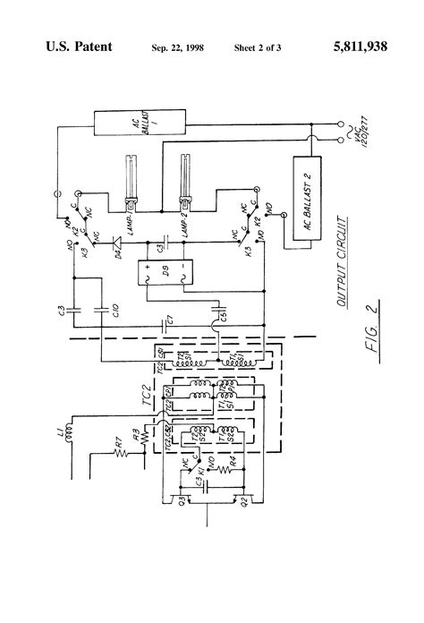 3 l t5 emergency ballast wiring diagram 2 bulb ballast