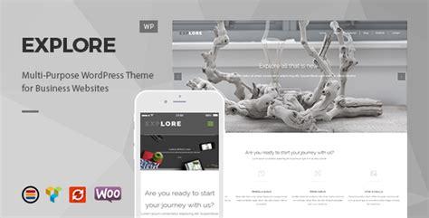 themeforest explore explore responsive business wordpress theme by europadns