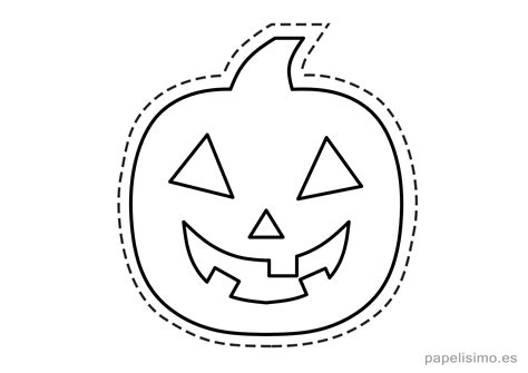 imagenes calabazas halloween para imprimir 6 manualidades de halloween para ni 241 os papelisimo