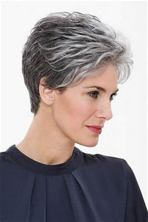 hairstyles for women over 70 with salt and pepper gray hair 30 superb short hairstyles for women over 40 older women