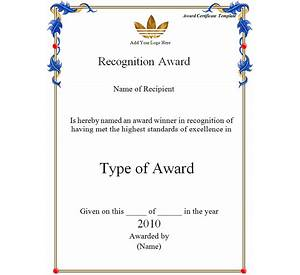64 award certificate template publisher 2007 resume writing certificate of appreciation template in word bright hub yelopaper Images