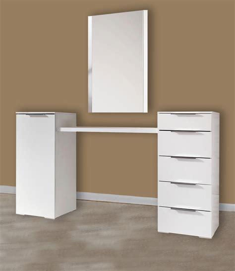 kommoden mit spiegel schminkplatz schminktisch medina 4 teilig wei 223 mit spiegel