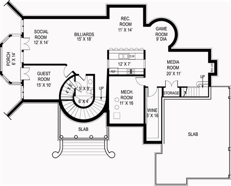 tudor revival floor plans tudor revival house plans