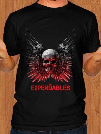 T Shirt Expendables the expendables t shirt black ficonco merchandise t
