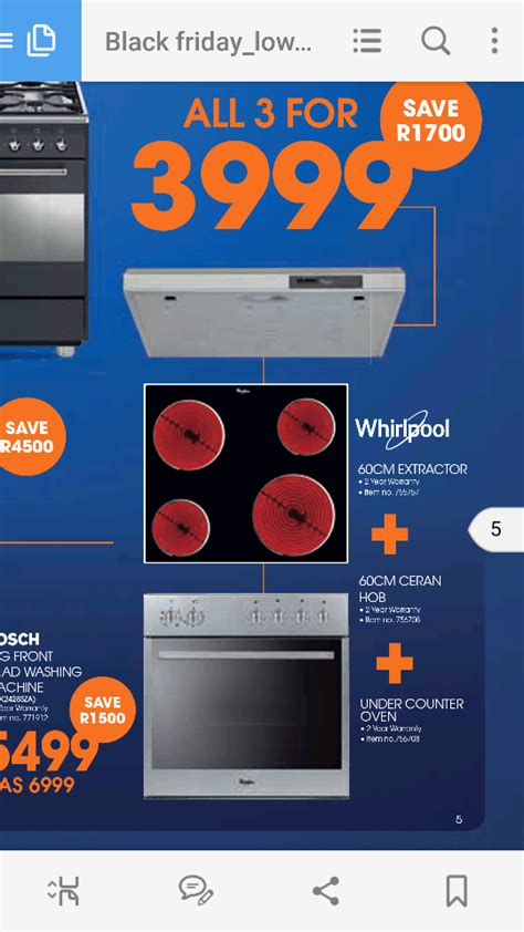 black friday fan whirpool hob oven and extractor fan black friday