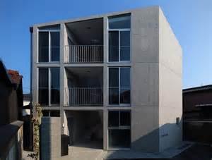 Concrete Apartments by Alphaville Constructs Concrete Hikone Studio Apartments