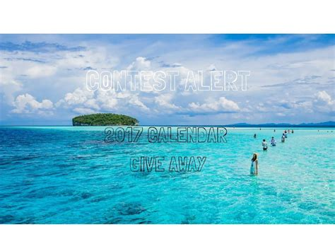 Travel Contests And Giveaways - travel contest alert 2017 desktop calendar giveaway