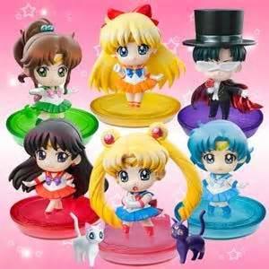 Sailor Moon Figure Sailormoon Tanpa Box puchi chara sailor moon figure box set preorder